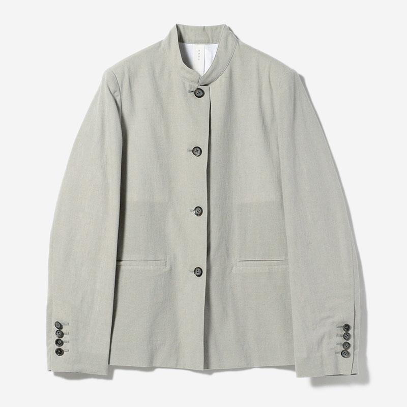 eauk STAND COLLAR JACKET SUI/womens