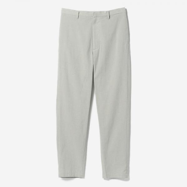 FLAT TAPERED PANTS SUI/womens