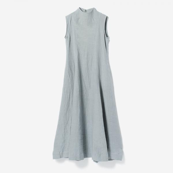 CLOGGED NECK DRESS SUI/womens