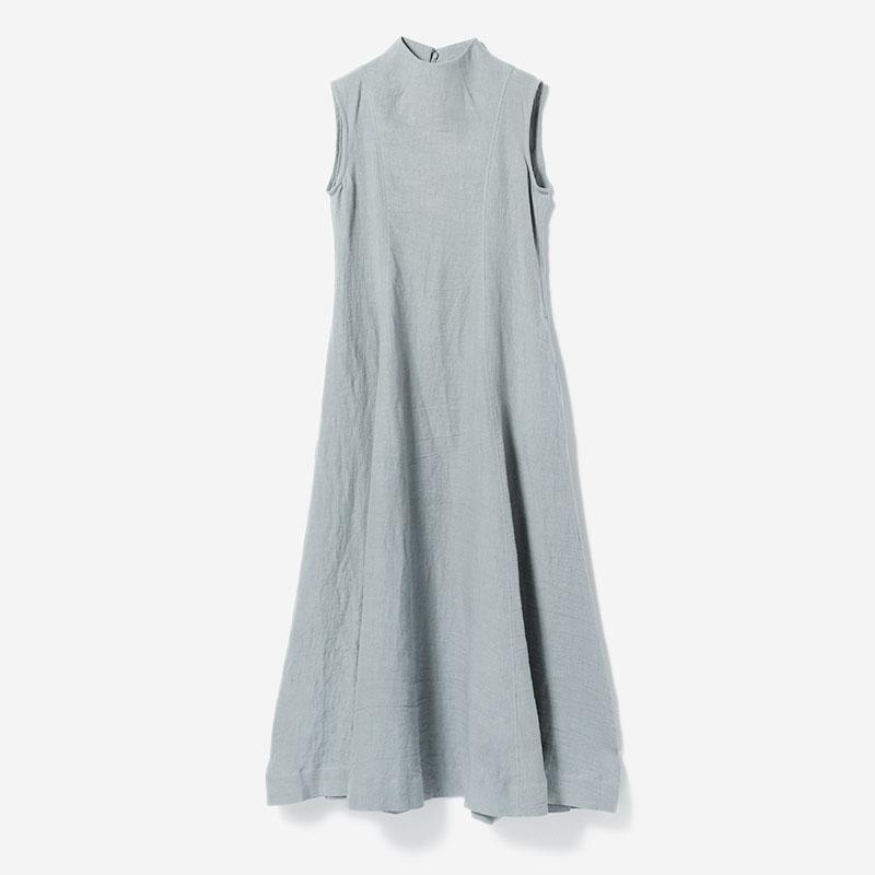 CLOGGED NECK DRESS SUI/womens