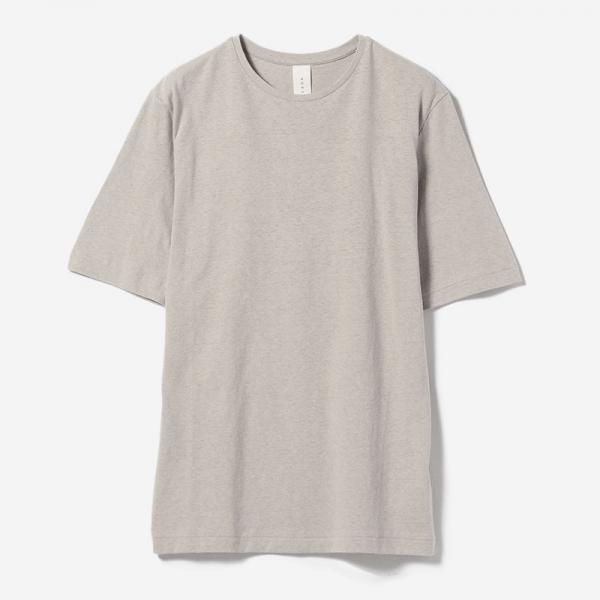 SIMPLE FIT T-SHIRT GREIGE/womens