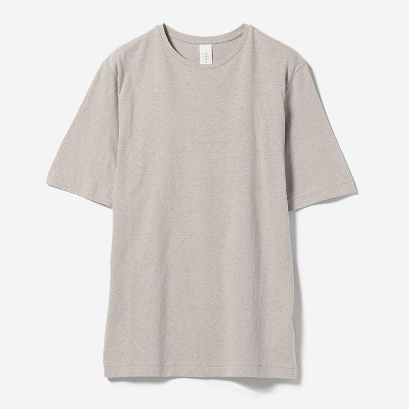 eauk SIMPLE FIT T-SHIRT GREIGE/womens