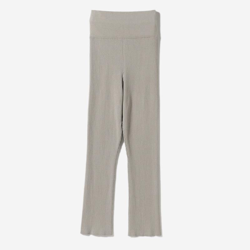 HIGH WAISTED PANTS GREIGE/womens