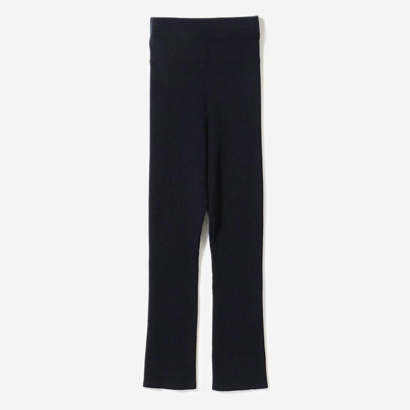 HIGH WAISTED PANTS NAVY/womens