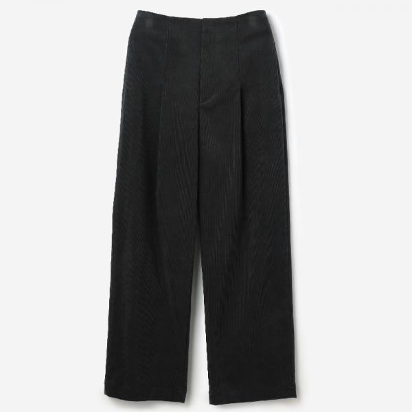 eauk CORDUROY PANTS FOG / womens