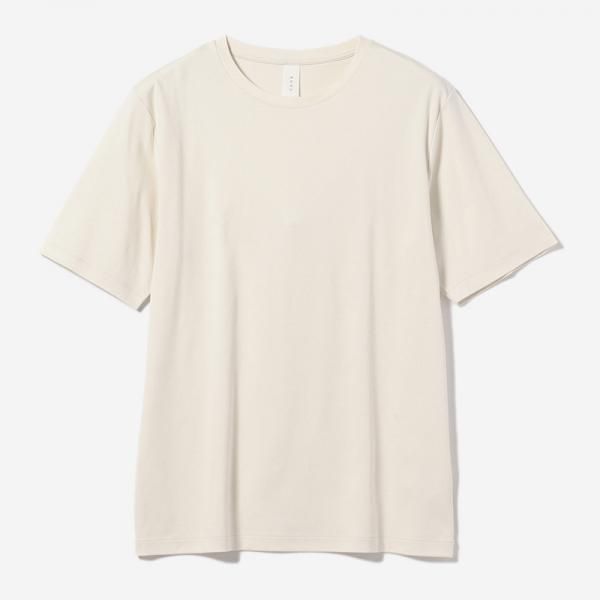 SIMPLE FIT T-SHIRT ECRU/mens