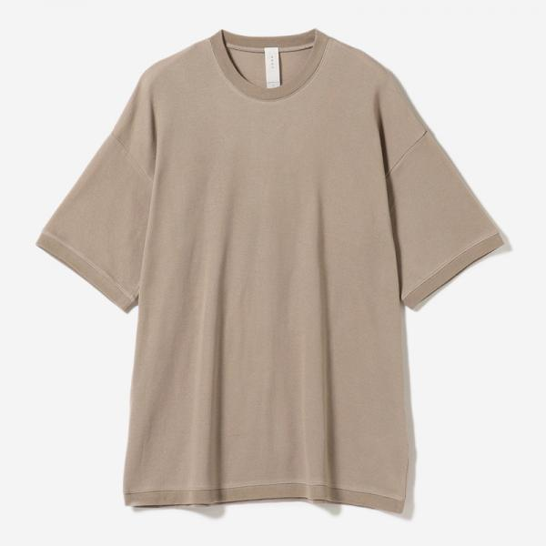 AIR COTTON T-SHIRT GREIGE/mens