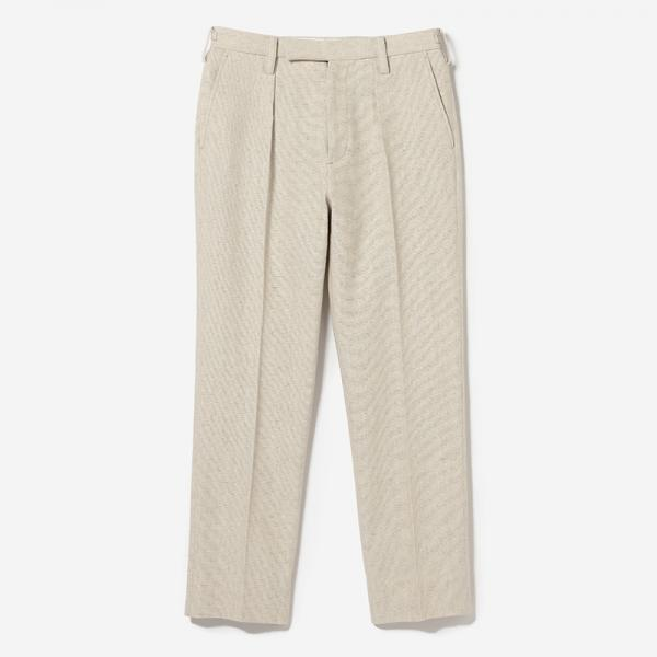 eauk LINEN DRESS PANTS NL/mens