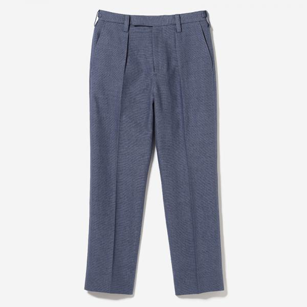 eauk LINEN DRESS PANTS NSBL/mens