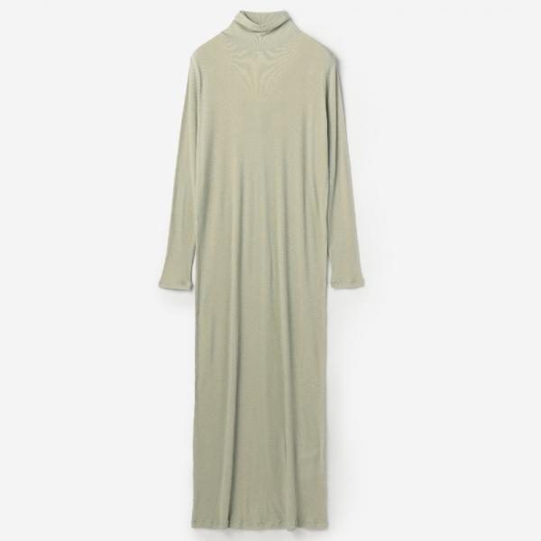 eauk TURTLE DRESS GREEN TINT / womens