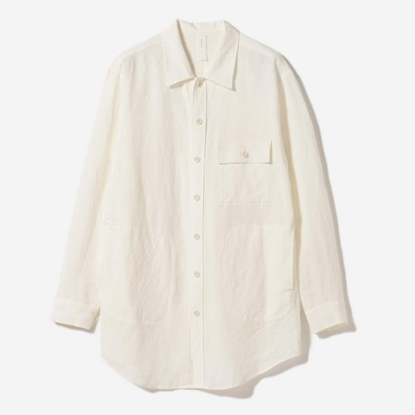 LONG SHIRT BLOUSON HAKU/mens