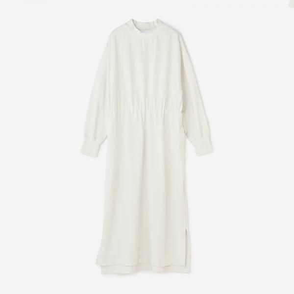LandNorm LONG SLEEVE ONE-PIECE スモークホワイト