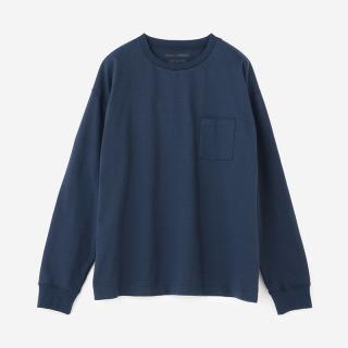 LandNorm LONG SLEEVE TEE ヘリ―ブルー