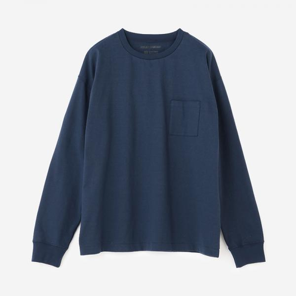 LN LONG SLEEVE TEE ヘリ―ブルー