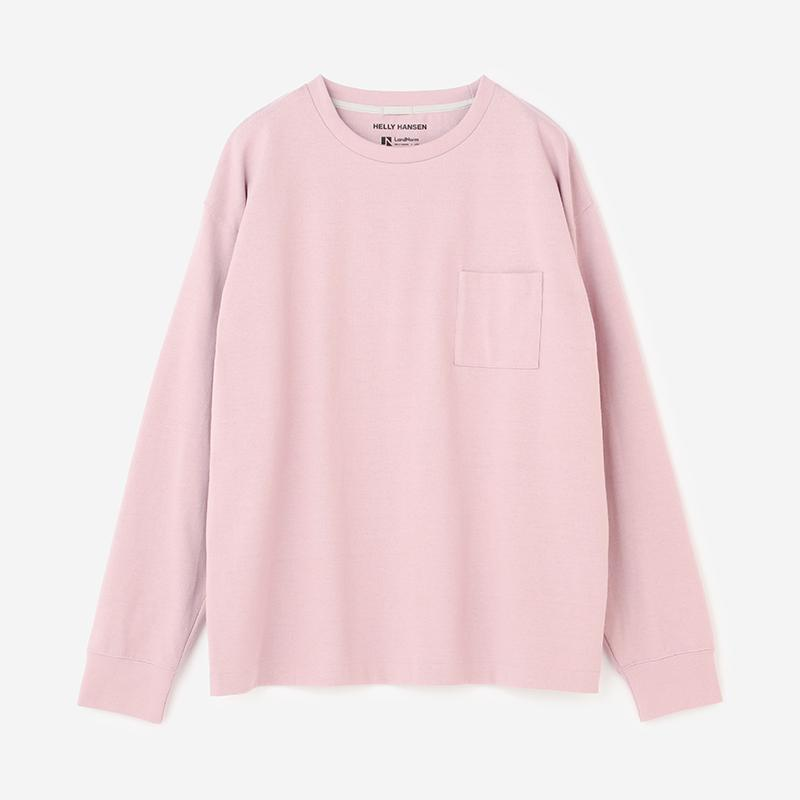 LandNorm LONG SLEEVE TEE シエラローズ