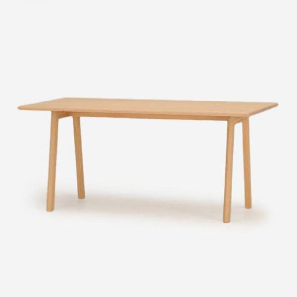 SOUP ダイニングテーブル オーク 160X80 (Aレッグ)