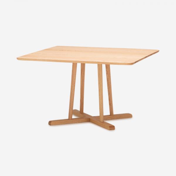 THYME ダイニングテーブル オーク  (スクエア)120×120 / 高さ65cm