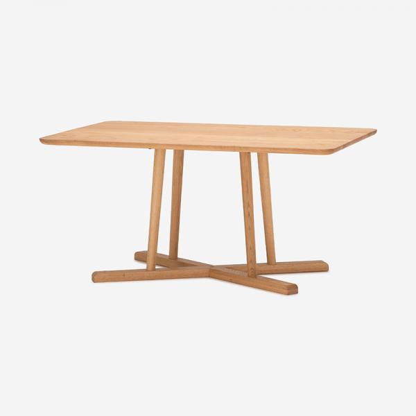 THYME ダイニングテーブル オーク  (スクエア)135×85 / 高さ65cm