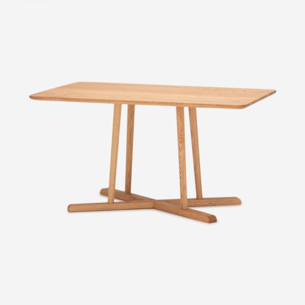 THYME ダイニングテーブル オーク  (スクエア)135×85 / 高さ72cm