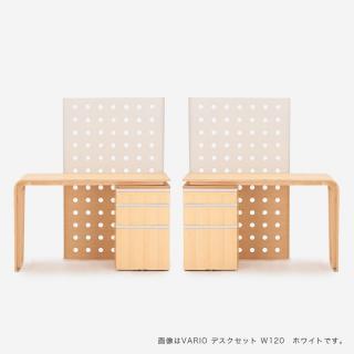 【キャンペーン対象商品】VARIO デスク W100兄弟セット ホワイト
