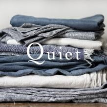 自然の風景にインスパイアされたベッドウェアコレクション「Quiet」。