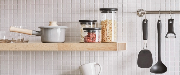 Cozy Kitchen Organization/見せる収納でキッチンを心地よく
