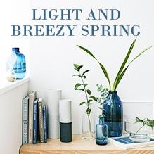 美しい花器で春を飾る