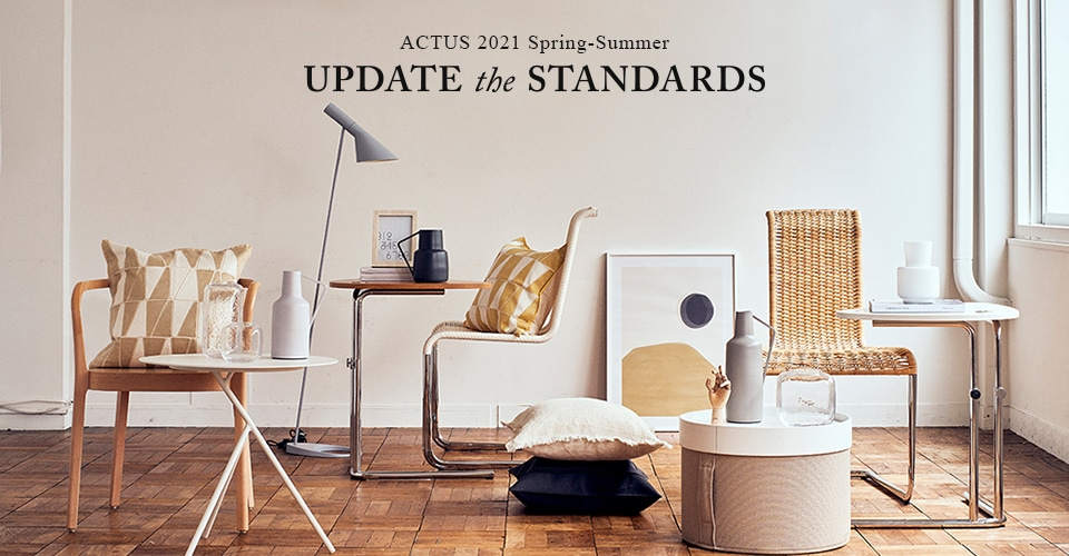 "▼ ACTUS 2021 SPRING-SUMMER ""UPDATE the STANDARDS"""
